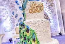 Wedding Cake Customize Design by RR CAKES