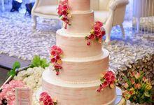 Wedding Cakes by MAHONY CAKES