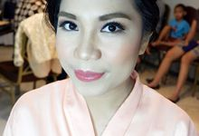 Bridesmaid Makeup by Sweetiana Makeup