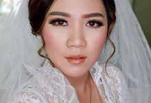 Wedding makeup by Vnimakeupartist