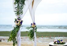 Sadara Beach Simple Wedding by Yours Bali Wedding