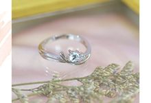 Classic Engagement Style by J's Diamond Jewellery