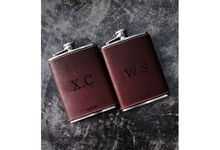 Personalized Groomsmen Gifts by Flask Indonesia