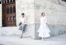 Dimas Anggara & Nadine Chandrawinata by Rusli Hadiwinata
