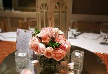 WEDDING  - CJ and Jeannine by Aruga Cafe by Mesclun