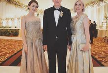 Vladimir & Dominique - Family Dress by Berta Chandra Couture