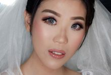 Wedding makeup by Vnimakeupartist