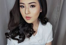 Makeup Party Look Soft Glam For Ms. Indri by Desiliafu makeupartist