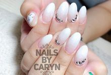 Simplicity Bridal nails design  by nails by Caryn