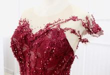 Red gown collection  by Anve Sposa