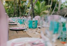 Kristina & Sergejus  Wedding Destination Saona Island by Jennifer C  Wedding & Event Agency
