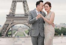 Paris pre-wedding session of  Tommy & Fenny by Klik Studio