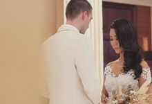 Vladimir and Dominique - Bride by Berta Chandra Couture