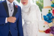 Afiq & Teyka - Groom Reception by Cubic Foto by PlainPaperpaint Production