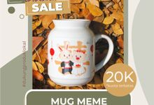 FLASH SALE MUG MIMI STOK TERBATAS WEDDING SOUVENIR by Mug-App Wedding Souvenir