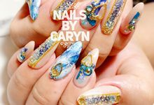 Japanese Nailart trend  by nails by Caryn
