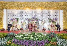 The Wedding of Isyana and Fauzi by Bloom Gift