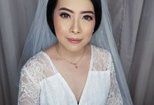 Wedding Makeup For Ms. Erlin by Desiliafu makeupartist