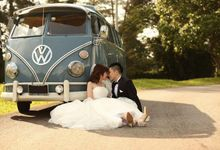 Be transported on your lovely wedding day by classic VW by VolksWedding