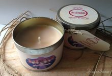 Candle Tin Favors by Fauste Souvenir