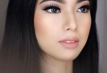Photoshoot Prewed Look For Ms. Yohana by Desiliafu makeupartist