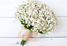 Bridesmaid Bouquet by Esme Floral Artistry