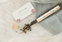 the wedding of Rina & Ayen by Tea & Co Gift