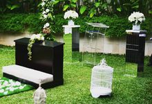 wedding decoration by CoolWater Decoration & Event Planner