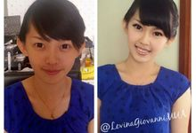party makeup by Levina Giovanni MakeUp Artist