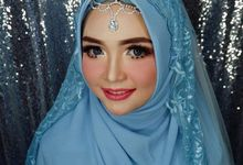 Make up by Owner Tri Lestari by Princessbridalgallery