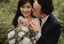 Prewedding Andrew & Steffi by Esme Floral Artistry