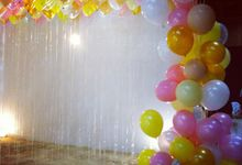 Wedding Arch by Balloon Blasters