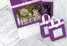 Andre & Priska Fairy tale Wedding Invitation by Kairos Wedding Invitation