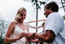 Tiny wedding of Aryanda & Kristie by Delapan Bali Event & Wedding