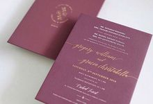 Simplicity is the ultimate sophistication by Tapestry Invitation