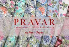 XIABO PRAVAR LILIT PARANG & ENCIM by PRAVAR.EMBROIDERY