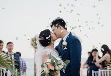 Wedding is never boring with this client by White Peonies Project