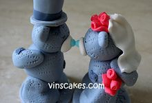 Wedding Cupcakes by Vin's Cakes