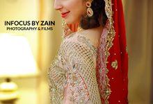 Out Door Wedding Shoot by Infocus By Zain