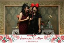 Amanda Faustine Sweet17 by Caderie Photobooth