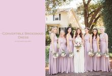 Convertible Bridesmaid Dress by The White Gallery