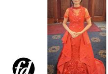 Red Theme Wedding Party by Fenny Damian