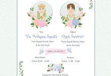 e-invitation Titi dan Agus by rusticme