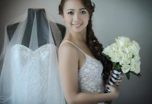 Wedding Hair and Makeup by Makeovers by Christine Ver