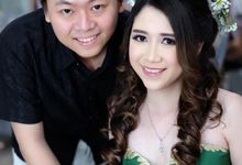 Client Jessica Angela and Ricky by Bridal Art