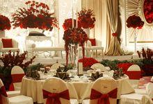Red & White Wedding by Grand Mercure Bandung Setiabudi