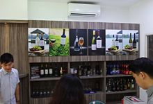 Wedding Wine Tasting at our New Office by Barworks Wine & Spirits Pte Ltd