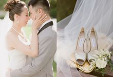 ERICA and DAVID REPULSE BAY HOTEL by KC Professional Photography