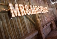 Wedding Sign by Mr & Mrs Signs