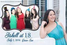 Jishell 18th birthday by e-Guestbook